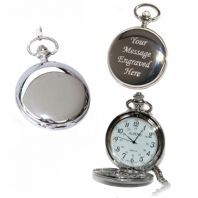 Quartz Pocket Watch 1-12 Arabic Numerals